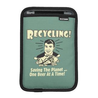 Recycling: Saving the Planet iPad Mini Sleeve