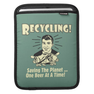 Recycling: Saving the Planet Sleeve For iPads