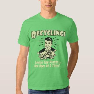 Recycling: Saving the Planet T Shirt