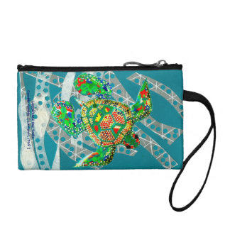 Recycling Sea Turtle Coin Purse
