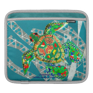 Recycling Sea Turtle iPad Sleeve