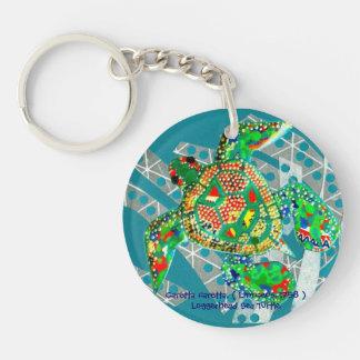 Recycling Sea Turtle Keychain