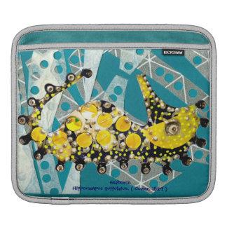 Recycling Seahorse iPad Sleeve
