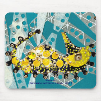 Recycling Seahorse Mouse Pad