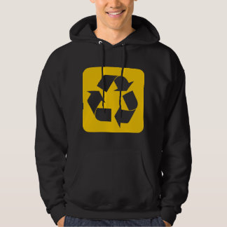 Recycling Sign - Amber Hoodie