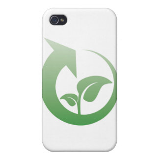 Recycling sign cover for iPhone 4