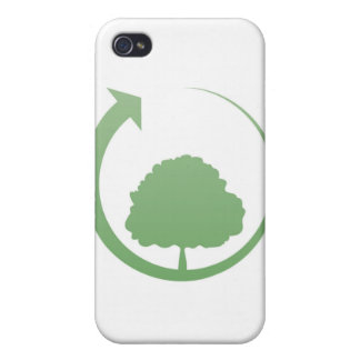 Recycling sign cases for iPhone 4