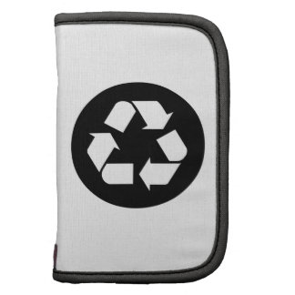 Recycling Sign Folio Planners