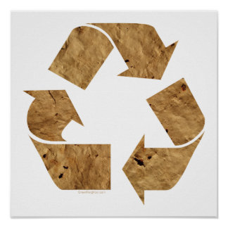 Recycling Sign Print
