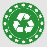 Recycling Sign Sticker