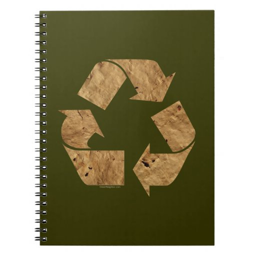 Recycling Spiral Notebooks