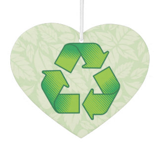 Recycling symbol air freshener