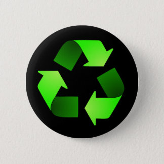 Recycling Symbol Button