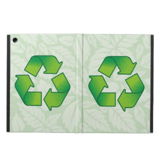 Recycling symbol case for iPad air