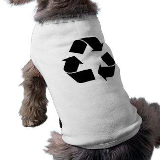 Recycling Symbol Dog Tee Shirt