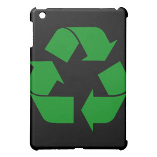 Recycling Symbol - Green Cover For The iPad Mini