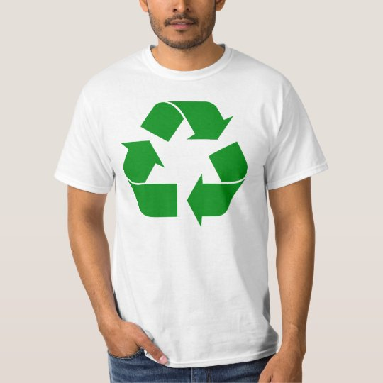 Recycling Symbol - Green T-Shirt