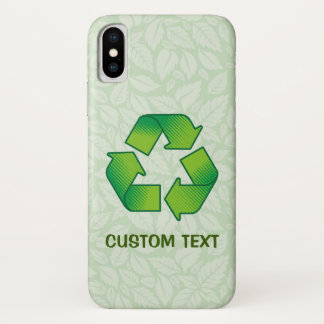 Recycling Symbol iPhone X Case