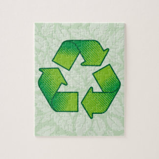 Recycling Symbol Jigsaw Puzzle