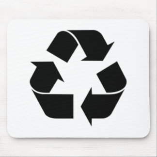 Recycling Symbol Mouse Pad