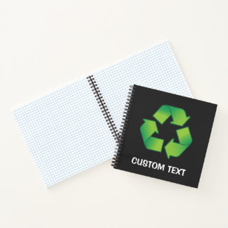 Recycling Symbol Notebook
