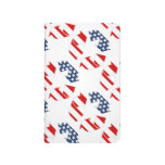 Recycling Symbol - Red White & Blue Journals