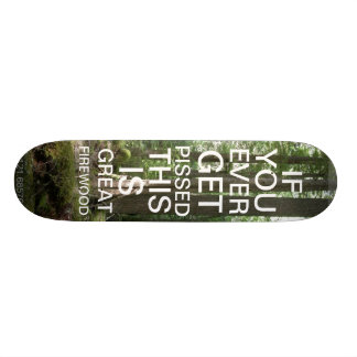 RECYCLING THE DECK SKATEBOARD