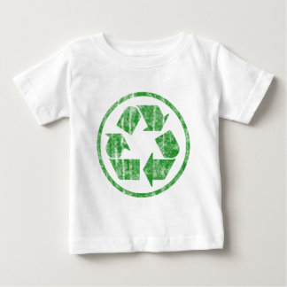 Recycling to Save the Planet Earth, Symbol Baby T-Shirt