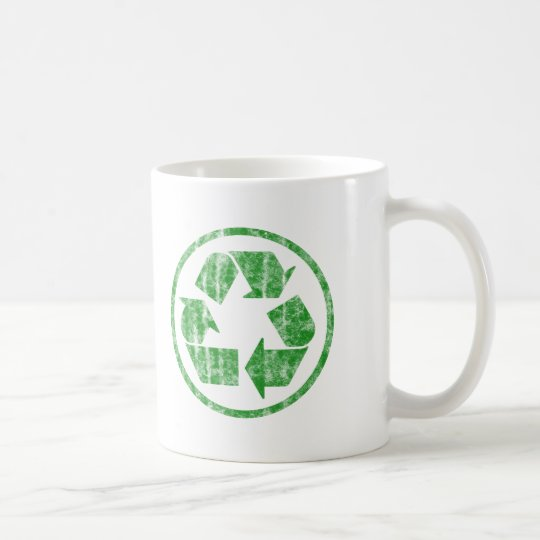 Recycling to Save the Planet Earth, Symbol Coffee Mug