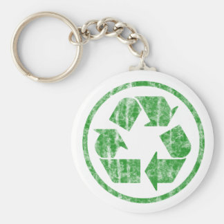 Recycling to Save the Planet Earth, Symbol Keychain