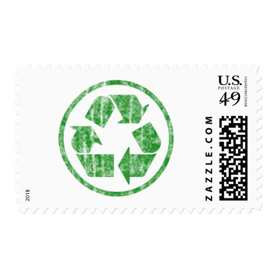 Recycling to Save the Planet Earth, Symbol Postage
