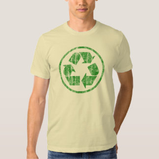 Recycling to Save the Planet Earth, Symbol Tee Shirt