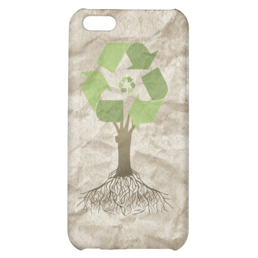 RECYCLING TREE iPhone 5C COVER