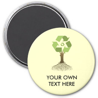 RECYCLING TREE MAGNET