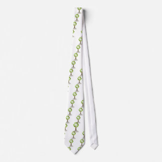 Recycling Tree Neck Tie
