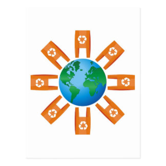 Recycling World Postcard