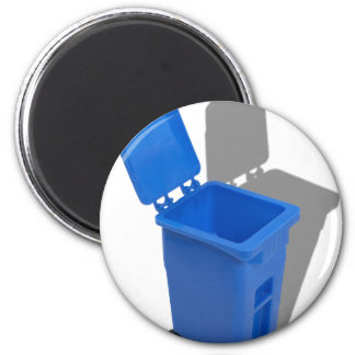 RecyclingBin082010 2 Inch Round Magnet