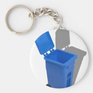 RecyclingBin082010 Keychain