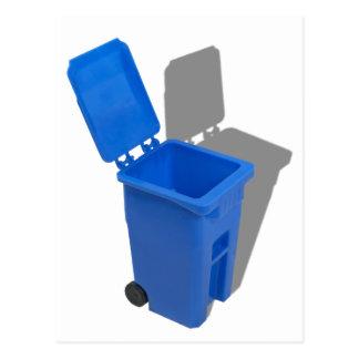 RecyclingBin082010 Postcard
