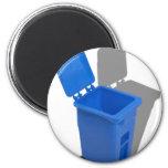 RecyclingBin082010 Refrigerator Magnets