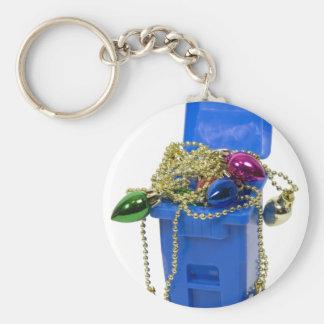 RecyclingOrnaments120409 copy Keychain