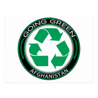 Recyle Afghanistan Postcard