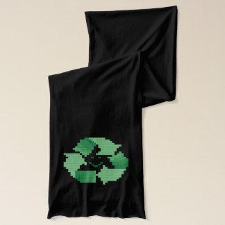 Recyle symbol scarf