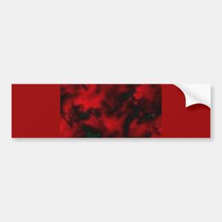 red014 car bumper sticker