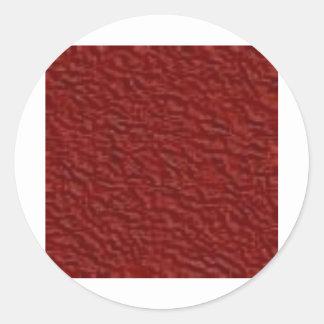 red015 classic round sticker