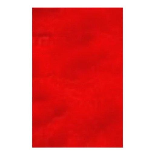 red021 stationery design