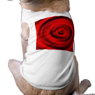 red156 camisa de perro