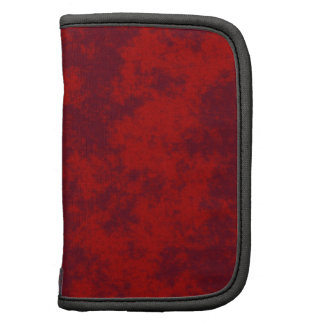 Red1 Soft Grunge Design Folio Planners