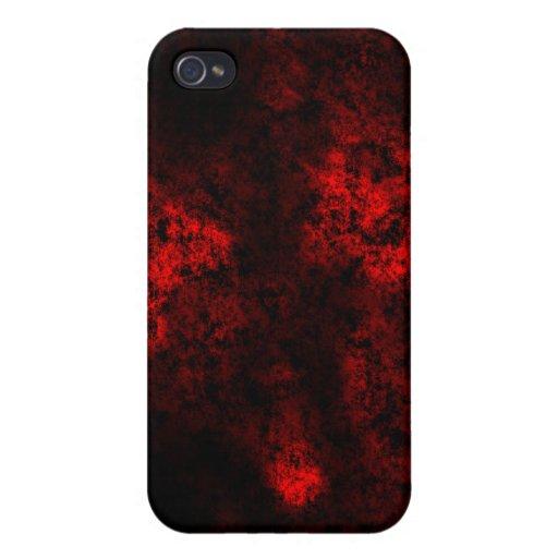 red2 iPhone 4 cárcasas