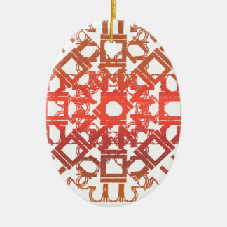 Red 101STAR Christmas Ornaments